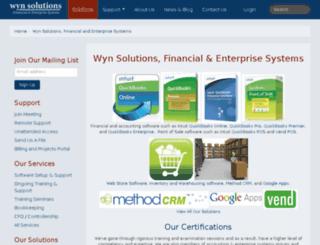 wynsolutions.com screenshot