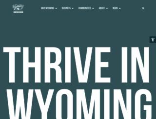 wyomingbusiness.org screenshot