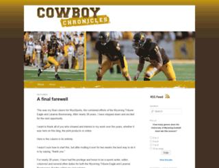 wyomingcowboysblog.com screenshot