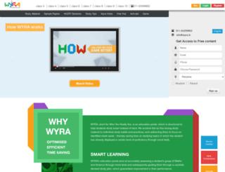 wyra.in screenshot