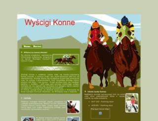 wyscigi-konne.xse.pl screenshot