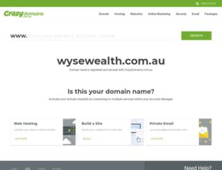 wysewealth.com.au screenshot