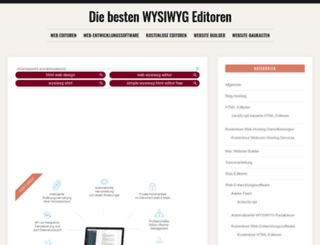 wysiwygwebbuilder.de screenshot