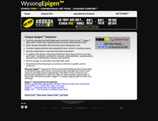 wysongepigen.net screenshot
