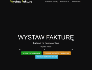 wystaw-fakture.pl screenshot
