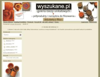 wyszukane.pl screenshot