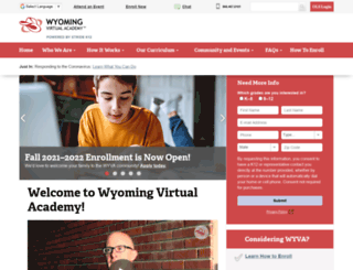 wyva.k12.com screenshot
