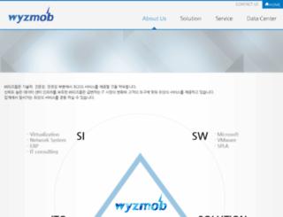 wyzmob.com screenshot