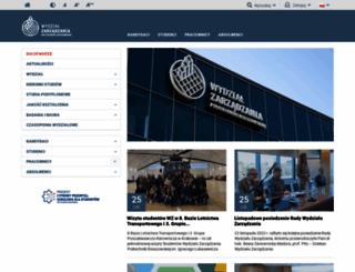 wz.prz.edu.pl screenshot