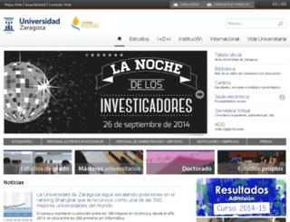 wzar.unizar.es screenshot