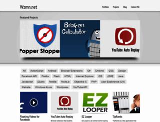 wzmn.net screenshot