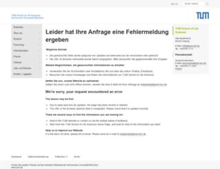 wzw.tum.de screenshot