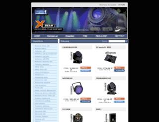 x-beam.pl screenshot