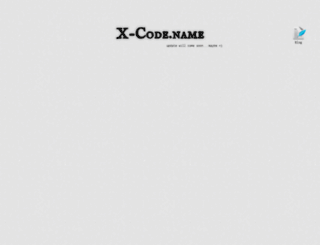 x-code.name screenshot