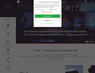 x-led.de screenshot