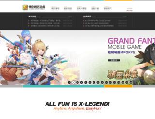 x-legend.tw screenshot