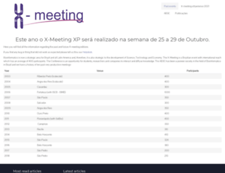 x-meeting.com screenshot