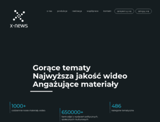 x-news.pl screenshot
