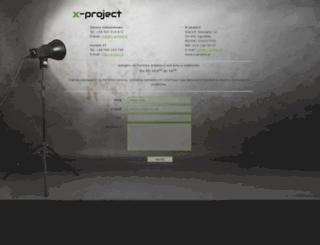 x-project.pl screenshot