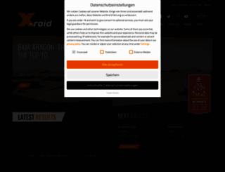 x-raid.de screenshot