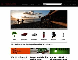 x-ride.ch screenshot