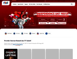 x1.firstmedia.com screenshot