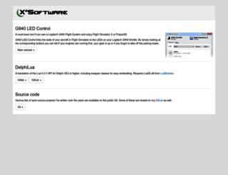 x2software.net screenshot