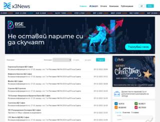 x3news.com screenshot