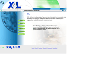 x4-llc.com screenshot