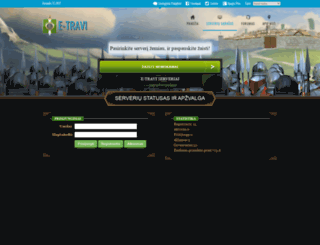 x50.etravi.lt screenshot