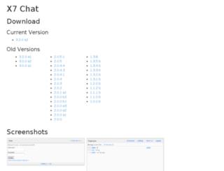 x7chat.com screenshot