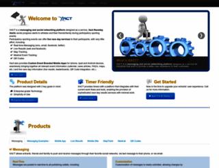 xacte.com screenshot