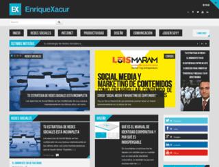 xacur.mx screenshot