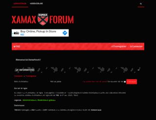 xamaxforum.ch screenshot