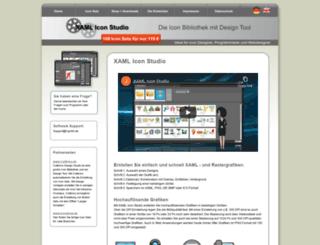 xaml-icon-studio.com screenshot