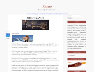 xango.ca screenshot