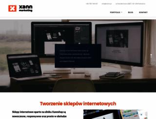 xannshop.com screenshot