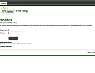 xantara.print-server.net screenshot