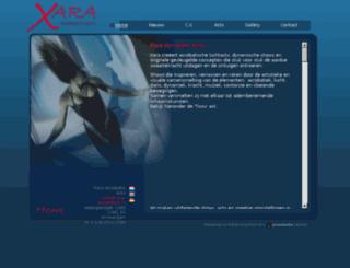 xara-acrobatics.nl screenshot