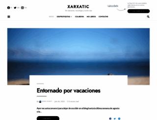 xarxatic.com screenshot