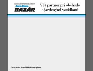 xauto.sk screenshot