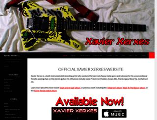 xavier-xerxes.com screenshot