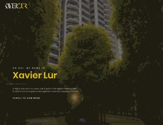 xavierlur.com screenshot