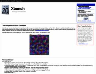 xbench.com screenshot