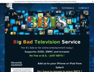 xbmcbbts.weebly.com screenshot