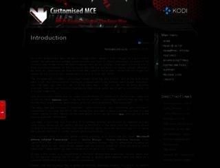 xbmccustomregis.sourceforge.net screenshot