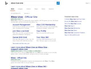 xbox-live-one.com screenshot