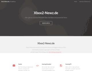 xbox2-newz.de screenshot