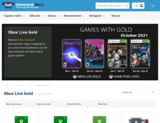xbox360gold.nl screenshot