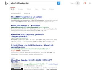 xbox360livekaarten.nl screenshot